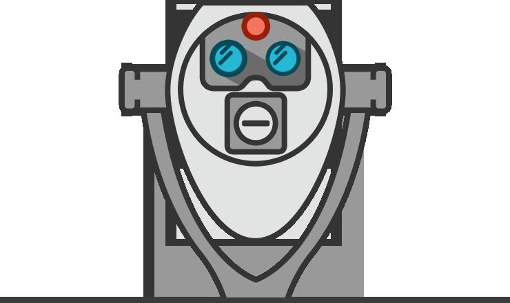 Binoculars Robot